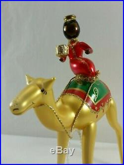 Christopher Radko Italian Blown Glass Ornaments FROM ORIENT ARE 1996