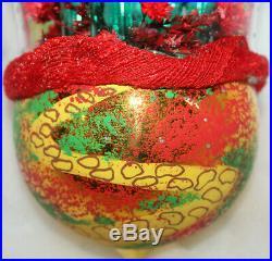 Christopher Radko Italian EMERALD CITY Wizard of Oz Glass Christmas Ornament