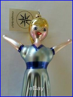 Christopher Radko Italian Glass Ornament I CAN FLY 1995 Peter Pan Character