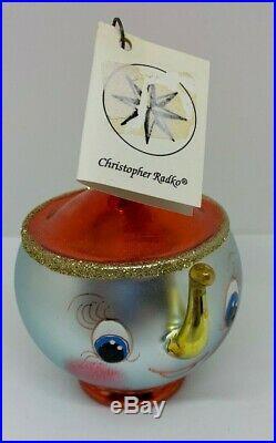 Christopher Radko Italian Ornament Tea & Sympathy 1994