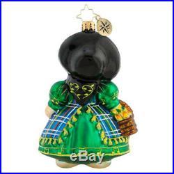Christopher Radko Little Peddler Muffy Ornament New 1019625 Vander Bear Rare