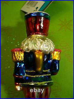 Christopher Radko Major Lee Heartfelt Glass Ornament