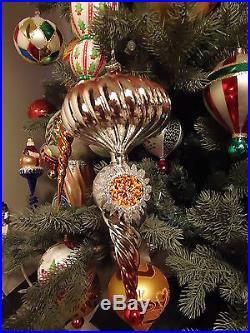 Christopher Radko Master Craftsman Reflector Ornament