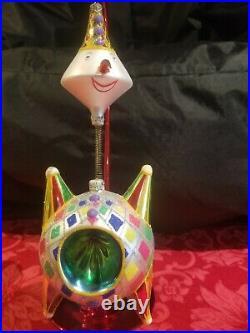 Christopher Radko Merriest Martian Ornament