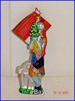 Christopher Radko Nightmare before Christmas SALLY Ornament Poland Retired RARE