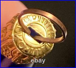 Christopher Radko Ornament Crescent Kringle (santa On Moon) Italy Mint