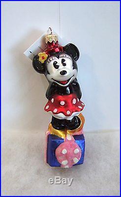 Christopher Radko Ornament Disney Noel Minnie #97-DIS-21 NIB/SEALED (R21)