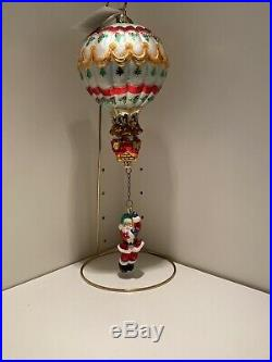 Christopher Radko Ornament Hang On Til Christmas With Tags Numbered