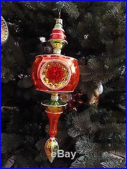 Christopher Radko Ornament-Master Craftmans Reflector