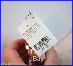 Christopher Radko Ornament Poinsettia Angel #1011463 NEW WITH TAG (R36)