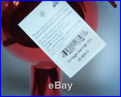 Christopher Radko Ornament VINTAGE GERMAN STAR REFLECTOR FINIAL 00-500-0 RARE
