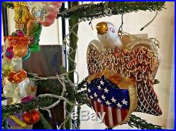 Christopher Radko Ornament of the Month, April'01thru March'02 +topper