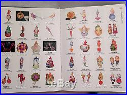 Christopher Radko Ornaments 1986-2000 Price Guide Vol 1 Olsen