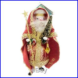 Christopher Radko PAPA NATALE Blown Glass Ornament Chrismas Santa Italian