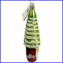 Christopher Radko PINE TREE SANTA 95-912-0 Christmas Ornament Rare NWT