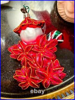 Christopher Radko Poinzy Pal Holly Jean 20th Anniversary Ornament