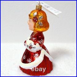 Christopher Radko ROSEMARY CLOONEY White Christmas Ornament 99-wht-02 Very RARE