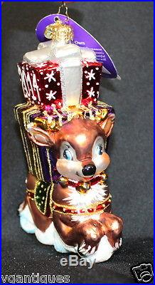 Christopher Radko Ready for Flight 2014 Ornament #3012898 New Dated Reindeer