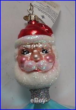 Christopher Radko Retired 2003 Nicholas Topper Made Germany Christmas Ornament