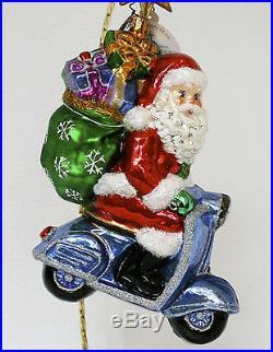Christopher Radko Roaming Holiday Ornament NEW