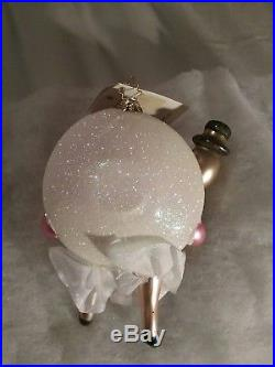 Christopher Radko Runaway Romance Rare Retired Ornament