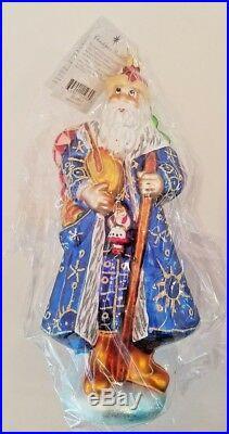 Christopher Radko SIBERIAN SANTA Ornament Catalog # 99-086-0 9 tall