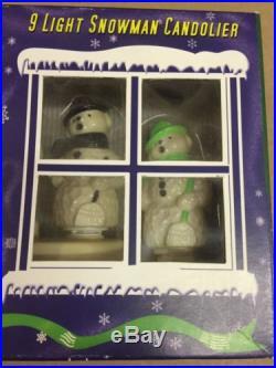 Christopher Radko, Shiny Brite, Snowman Candolier