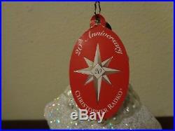 Christopher Radko St Petersburg Santa Ornament # 1011499