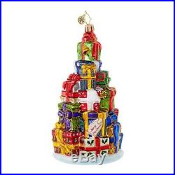 Christopher Radko Stack'Em High Packages & Gifts Christmas Ornament