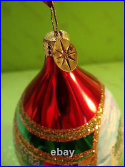 Christopher Radko The Inn At Christmas Place Glass Ornament