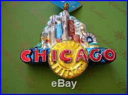 Christopher Radko Toddlin Town Glass Ornament