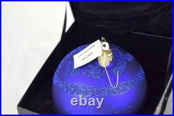 Christopher Radko Tory Burch Bloomingdales Large Christmas Tree Ornament Ball