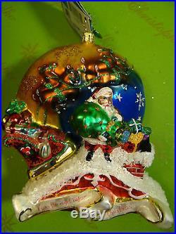 Christopher Radko Twas The Night Glass Ornament