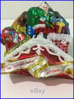Christopher Radko Twas the Night Limited Edition Christmas Ornament