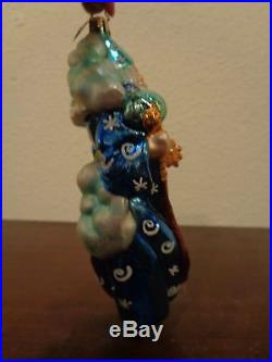Christopher Radko Wizard Of Wishes Ornament Merlin Spring Wand 3010225 WT