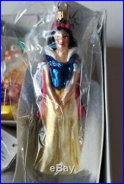 Christopher Radko ornament-Petite Snow White and the Seven Dwarfs MINT