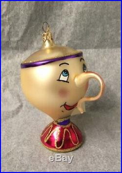 DSD Italian Collection Beauty and the Beast Set of 5 Ornaments 2008 New
