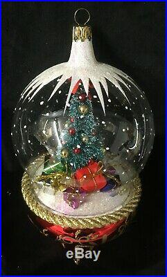 DSD Italian Collection Tannenbaum Globe Ornament #DSD0907701 2009 New