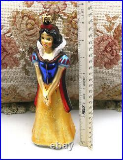 Disney Christopher Radko 1997 Snow White Christmas Tree Holiday Ornament