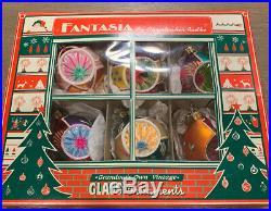 Fantasia By Christopher Radko Set Of 6 Fantasia Ornaments