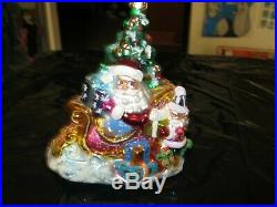 Great Lot Of 12 Christopher Radko Christmas Ornaments