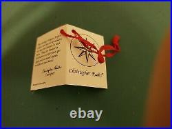 Huge Early Vintage 12 Christopher Radko Vtg 1997 Ruby Star 97-082-09 Ornament