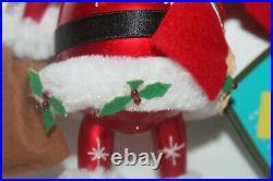 Italian Italy HITCHIN' A SLEIGHRIDE / Santa Christmas Ornament Christopher Radko