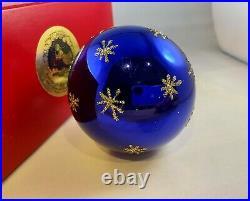 LG Radko PROUD (CELESTIAL) PEACOCK Rare Color Christmas Ornament Tag 90-076-1