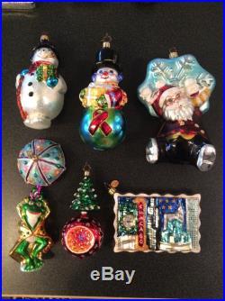 Lot Of 20 Christopher Radko Ornaments Set #1