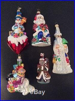 Lot Of 20 Christopher Radko Ornaments Set #4
