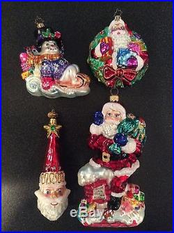 Lot Of 20 Christopher Radko Ornaments Set #5