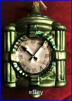 Marshall Fields/Christopher Radko Limited Edition State Street Clock Ornament