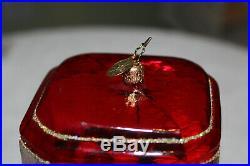 Mint Christopher Radko Large GOODY GUMBALLS Gumball Machine Ornament Rare