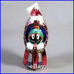 NIB 1997 Christopher Radko WB Exclusive MARVIN the MARTIAN Ornament 55/7500